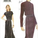 Vogue Sewing Pattern 9921 Misses Size 14-18 Easy Pullover Short Long Sleeve Dress