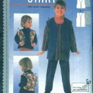 Burda Sewing Pattern 3171 Childrens Boys Girls Size 18M - 10 Long Short Loose Fitting Lined  Vest