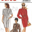 Burda Sewing Pattern 4187 Misses Size 12-24 Button Front Straight Dress Shirt Blouse