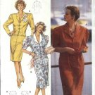 Burda Sewing Pattern 5113 Misses Size 14-24 Pullover Button Front Straight Dress