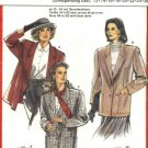 Burda Sewing Pattern 5221 Misses Size 12-26 Lined Two Piece Long Sleeve Button Front Jacket
