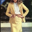 Butterick Sewing Pattern 3020 Misses Size 8-12 Classic Suit Long Sleeve Jacket Straight Skirt