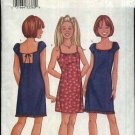 Butterick Sewing Pattern 3110 Girls' Size 12-16 Easy Summer A-Line Dress Sundress