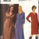 Butterick Sewing Pattern 3192 Misses Size 14-18 Easy Button Front Raised Waist Dress