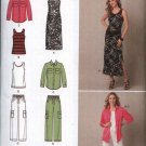 Simplicity Sewing Pattern 2189 Misses Size 10-18 Summer Wardrobe Knit Dress Top Pants Shirt