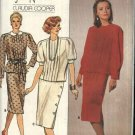Butterick Sewing Pattern 3326 Misses Size 16 Jean Nidetch Two-Piece Sleeveless Dress Over Blouse