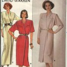 Butterick Sewing Pattern 3449 Misses Size 14-18 Straight Wrap Long Short Dress