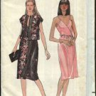 Butterick Sewing Pattern 3640 Misses Size 10 Wrap Front Sleeveless Dress Kimono Sleeve Jacket