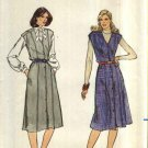 Butterick Sewing Pattern 3934 B3934 Misses Size 14 Button Front Princess Seam A-Line Jumper