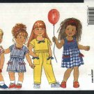 Butterick  Sewing Pattern 3959 B3959 Boys Girls Size 4-6 Easy Summer Wardrobe Dress Top Shorts Pants