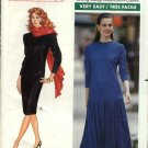 Butterick Sewing Pattern 4296 Misses Size 12-16  Easy Family Circle Straight Dropped Waist Dress