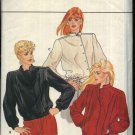 Butterick Sewing Pattern 4504 Misses Size 12-16 Button Snap Front Long Sleeve Jacket