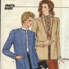 Butterick Sewing Pattern 4719 Misses Size 14-18  Easy Unlined Long Sleeve Cardigan Jacket