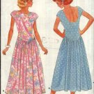 Butterick Sewing Pattern 4804 Misses Size 6-10 Easy Summer Sleeveless Knit Dress