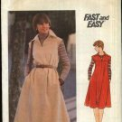 Butterick Sewing Pattern B4948 4948 Misses Size 8 Easy Front Back Yoke Flared Dress Jumper  Belt
