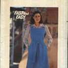Butterick Sewing Pattern 5414 B5414 Misses Size 14 Easy Square Yoke A-Line Jumper Belt