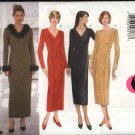 Butterick Sewing Pattern 5667 B5667 Misses Size 12-16 Easy Straight Princess Seam Long Sleeve Dress