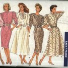 Butterick Sewing Pattern 5770 Misses Size 10 Easy Classic Straight or Flared Skirt Dress