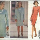 Butterick Sewing Pattern 5787 Misses Size 6-10 Classic Easy Straight Princess Seam Dress Jacket