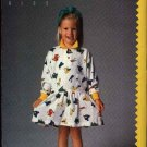 Butterick Sewing Pattern 5789 Girls Size 2-4 Easy Esprit Kids Long Sleeve Knit Dress