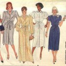 Butterick Sewing Pattern 6624 Misses' Size 14-18 Classic Button Front Dress Length Sleeve Options