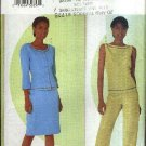 Butterick Sewing Pattern 6936 Misses Size 8-12 Easy Wardrobe Jacket Top Skirt Pants