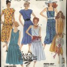 McCall's Sewing Pattern 3067 Misses Size 8 Easy Sundress Summer Dropped Waist Dress