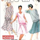 McCall's Sewing Pattern 3006 Miss Size 6-10 Easy Maternity Flared Skirt Pullover Top Sleeve Options