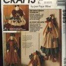 McCall's Sewing Pattern 5985 M5985 Stuffed Decorative Bunny Cover-ups Sewing Machine Vacuum
