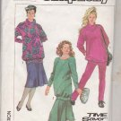 Simplicity Sewing Pattern 7732 Misses Size 14-16 Easy Maternity Wardrobe Knit Skirt Pants Top