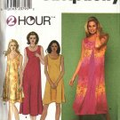 Simplicity Sewing Pattern 9119 Misses Size 6-24 Pullover Sleeveless Summer Dress with Overlay