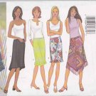 Butterick Sewing Pattern 6944 Misses Size 6-10 Easy Straight A-Line Skirts Hemline Options