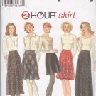 Simplicity Sewing Pattern 9765 Misses' Sizes 10-14 Bias Flared  Skirts Optional Lengths Overlay