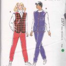 Kwik Sew Sewing Pattern 2377 Misses Size XS-XL Zipper Sanp Front Knit Vest Pants