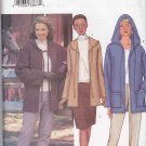 Butterick Sewing Pattern 3248 Misses Size 12-16 Easy Hooded Fleece Jacket Skirt Pants