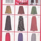 Butterick Sewing Pattern 5154 Misses Size 18-22 Easy Classic Bias A-Line Mock Wrap Skirts