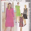 McCall's Sewing Pattern 3522 Womens Plus Size 18W-24W Easy Skirt Tops Sleeve Neck Options