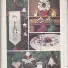 Butterick Sewing Pattern 4011 Scandinavian Christmas Designs Embroidery Applique