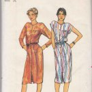 Butterick Sewing Pattern 3051 Misses Size 8-12 Button Front All Season Dress Sleeve Options