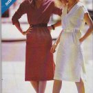 Butterick Sewing Pattern 3262 Misses Size 8-18 Pullover A-line Dress Sleeve Options