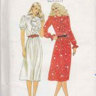 Butterick Sewing Pattern 3354 Misses Size 8 Pullover Loose Fitting Dress Sleeve Options