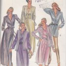Butterick Sewing Pattern B3387 3387 Misses Size 8 Sheer Lace Jacket Vest Button Front Dress Tunic