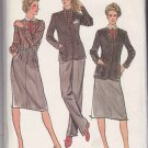 Butterick Sewing Pattern 3465 Misses Size 10 Jones NY Wardrobe Skirt Jacket Pants Blouse