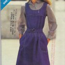 Butterick Sewing Pattern 3535 Misses Size 8-12 Pullover A-Line Jumper Elasticized Waistline