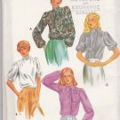 Butterick Sewing Pattern 3936 Misses Size 8 Long Short Sleeve Bow Tie Blouse