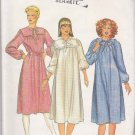 Butterick Sewing Pattern 4160 Misses Size 8 Long Sleeve Very Loose Fitting Dress Possible Maternity