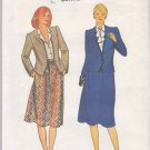 Butterick Sewing Pattern 4179 Misses Size 8 Suit Button Front Long Sleeve Jacket A-Line Skirt