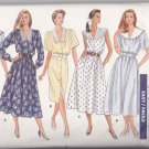 Butterick Sewing Pattern 5999 Misses Size 6-10 Easy Classic Straight Flared Dresses Collar Options