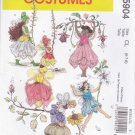 McCall's Sewing Pattern 5904 Girls Size 2-3-4-5 Fairy Dance Costumes Dress Wings Skirt Options Hat
