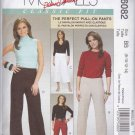 McCall's Sewing Pattern 6082 Misses Size 16-22 Classic Fit Pull-on Low Rise Long Cropped Pants